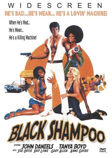 BLACK SHAMPOO BY DANIELS,JOHN (DVD)